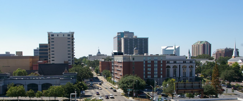 Skyline of Tallahassee, Florida