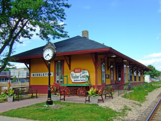 Middleton, WI Train Depot by James Steakley